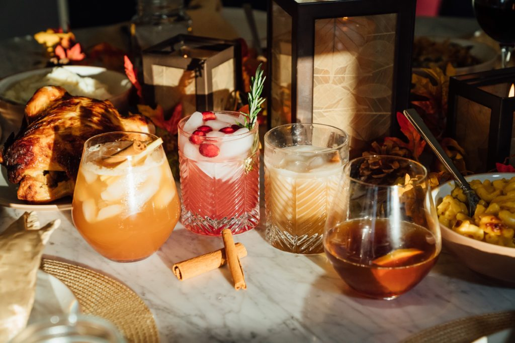 Thanksgiving bourbon cocktail recipes