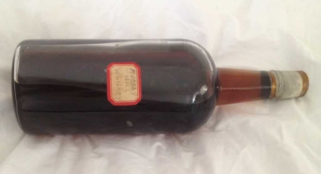 Joseph Magnus vintage whiskey bottle